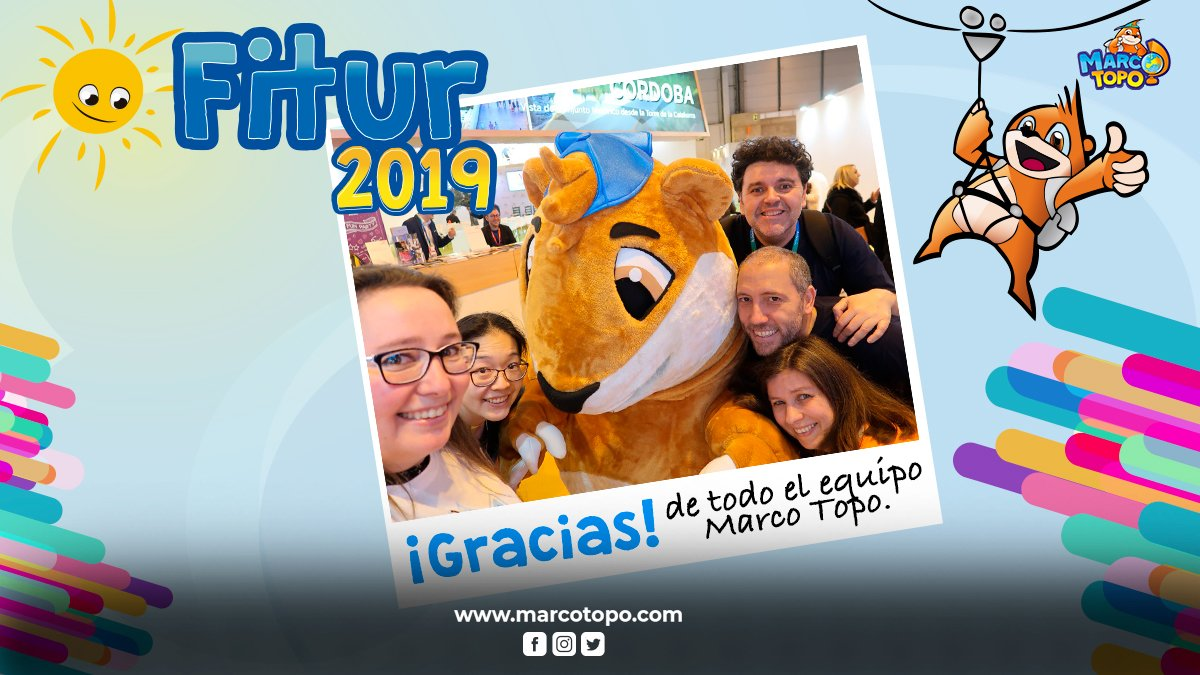 Marco todo en Fitur 2019