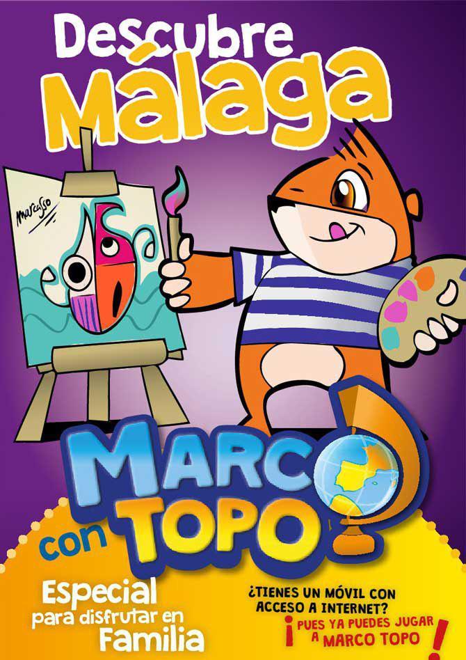 Portada Marco Topo en Málaga