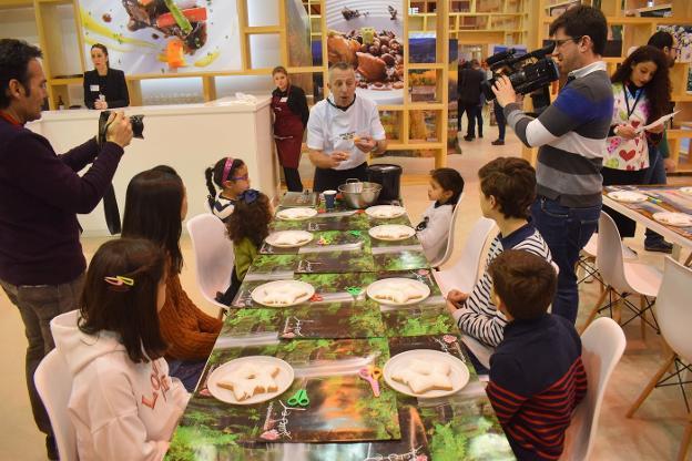 Clase de cocina para niños en La Rioja FITUR
