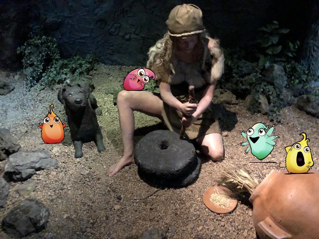Marco Topo en el Museo Mundo Guanche de Icod de los Vinos, Tenerife
