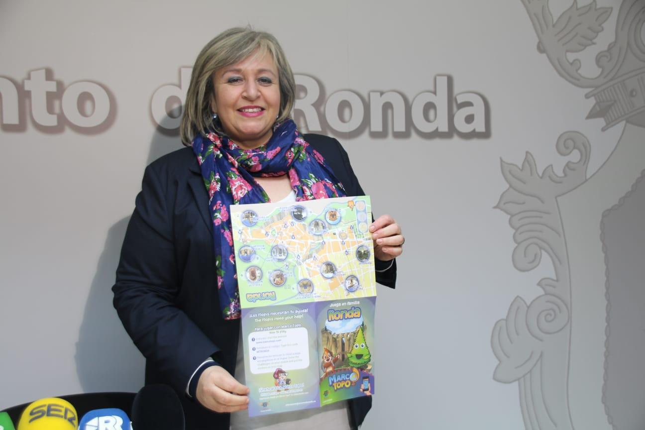 Isabel Mª Barriga Racero, concejala de Turismo de Ronda